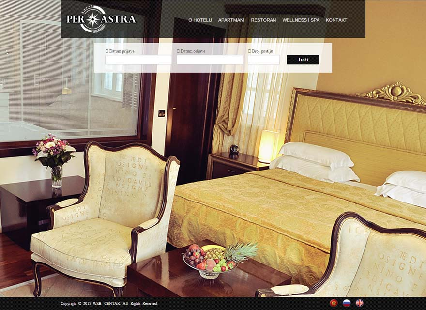 Per astra hotel for Hotel design kotor