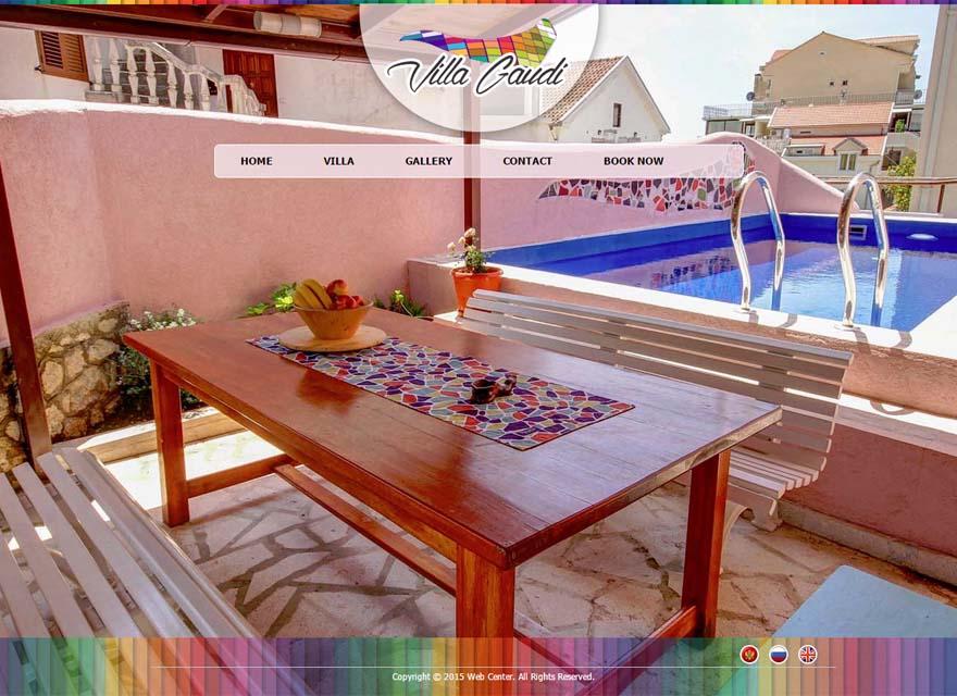 Villa gaudi for Hotel design kotor